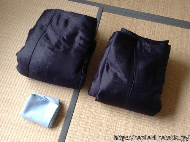 封筒型寝袋2枚とリーフツアラー