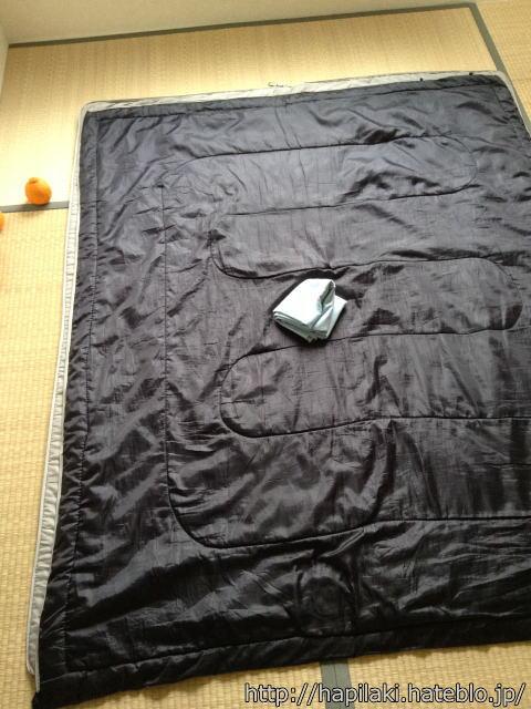 封筒型寝袋2枚とリーフツアラー2