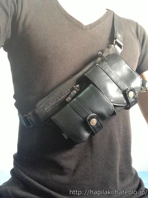ウエストバッグ/ウエストポーチ肩がけ(斜めがけ)