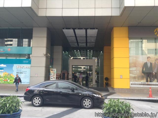 バンコクのサーミットタワーの正面入口