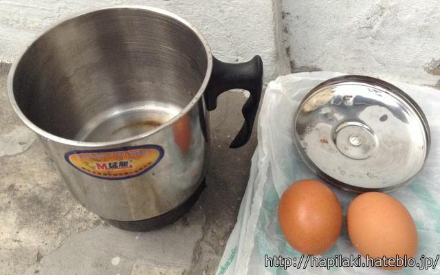 電気ケトルでゆで卵の簡単な作り方