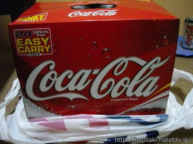 マレーシアのコカコーラ、325mlが24缶セット