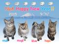 2015はっぴぃ♪にゃーいやぁ!にゃ☆