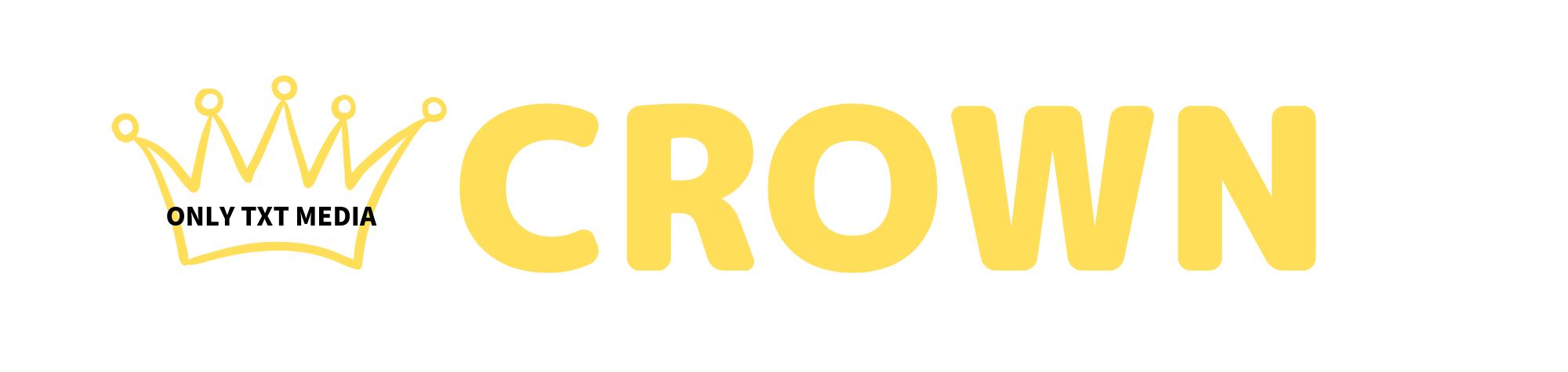 CROWN-ONLT TXT(ティーバイティー) MEDIA