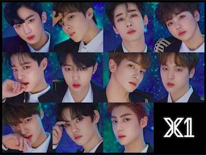 X1 メンバーたちの画像