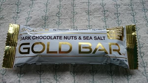 California Gold Nutrition ゴールドバー ダークチョコレートナッツ & 海塩バー