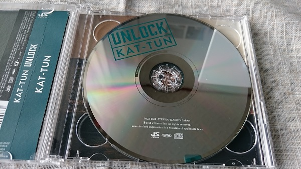 KAT-TUN UNLOCK CD