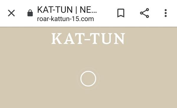 KAT-TUN Roar 特設サイト