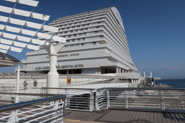 神戸ルミナス2乗船場所 メリケンパークオリエンタルホテル