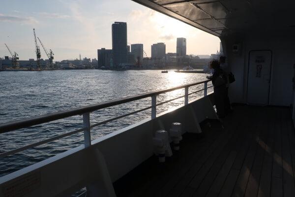 神戸ルミナス2 船からの景色