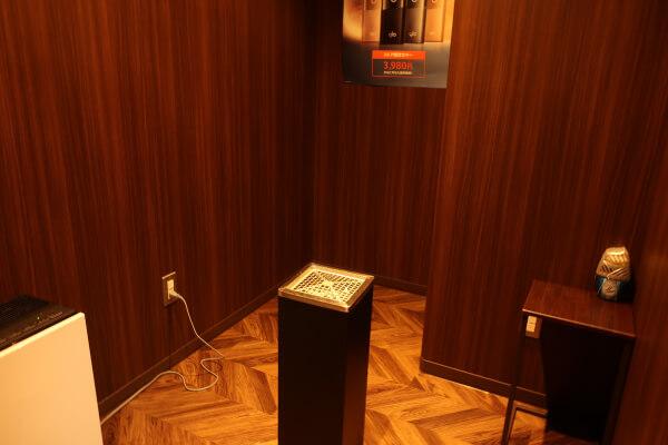 パセラのコワーク東神田店 3F 喫煙室