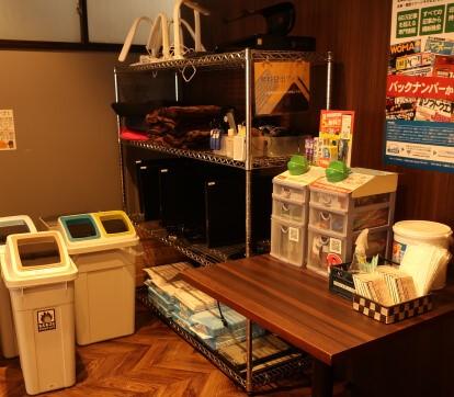 パセラのコワーク東神田店 3F 無料貸し出しスペース
