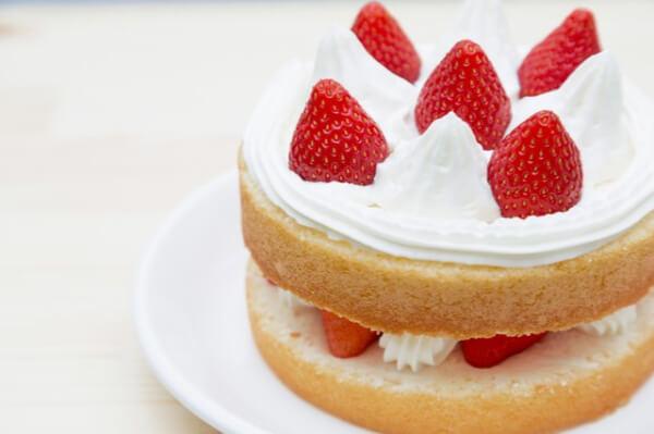 スポンジケーキ イメージ