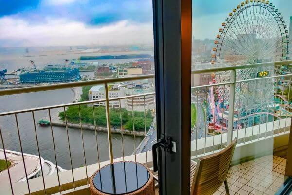 バルコニー付き客室(横浜ベイホテル東急)