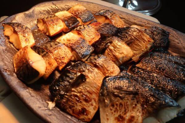 美味しそうな焼き魚(横浜ベイホテル東急)