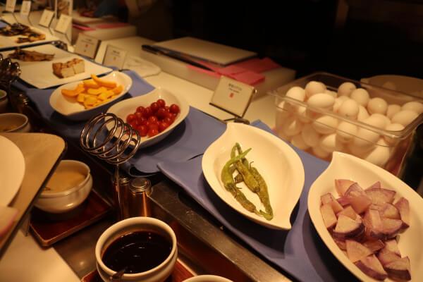 焼き立てグリル野菜(浅草ビューホテル)