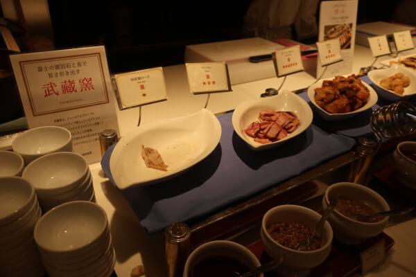 武蔵窯で焼き上げる(浅草ビューホテル)
