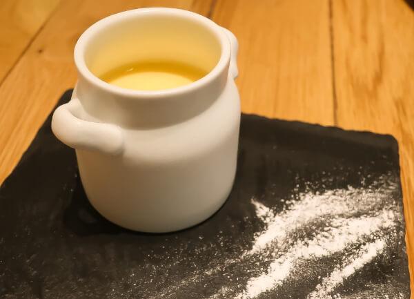 デザートのミルクプリン(タカナシミルクレストラン)