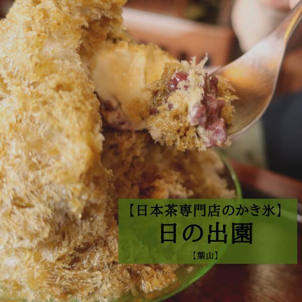 【レポ】葉山で絶品かき氷!日本茶専門店の薫り高いお茶かき氷を食べに行こう!【日の出園】