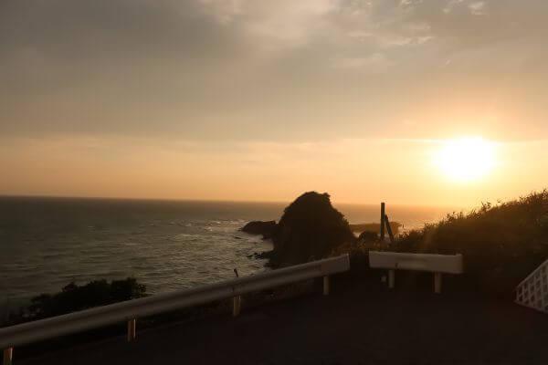 夕暮れの海辺♡葉山