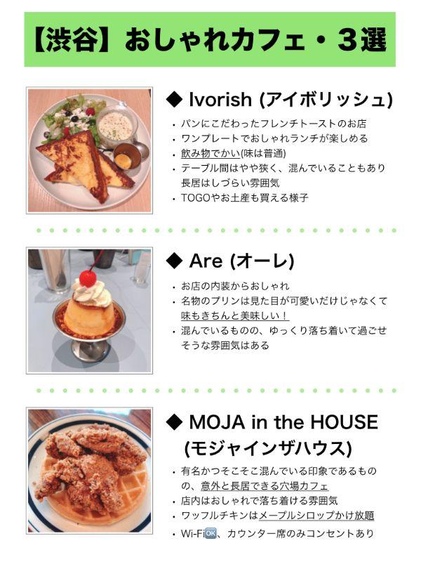 【渋谷】おしゃれカフェ3選/のんびりおしゃべり