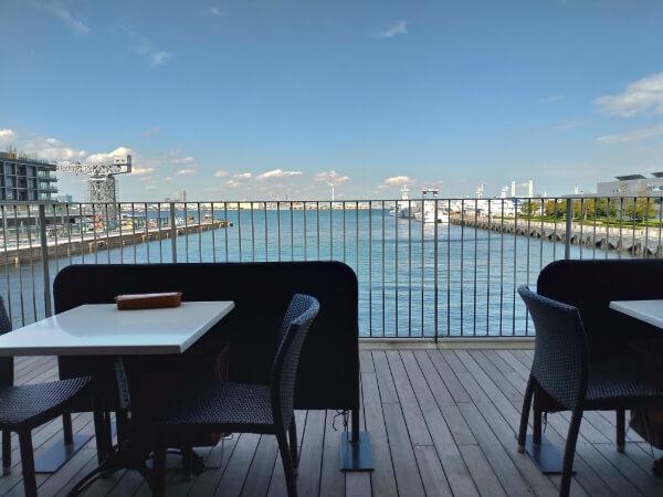 目の前に広がる横浜の海♡【A16 YOKOHAMA】