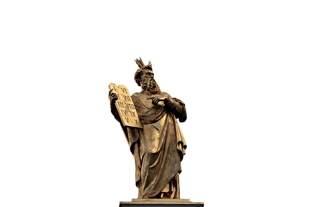 七つの大罪に出てくる十戒の元ネタのモーセ