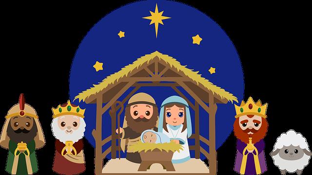マンガ聖書に出てくるマリアとヨセフ