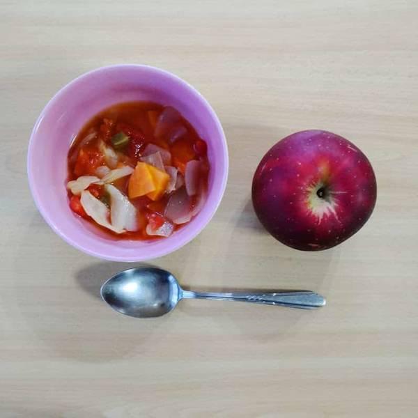 スープとリンゴの日