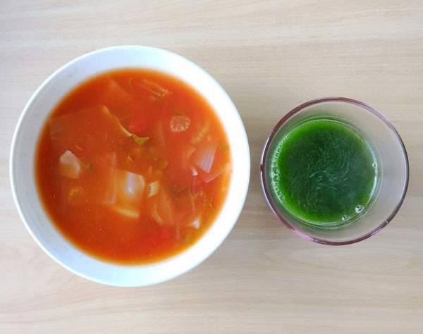 スープと青汁