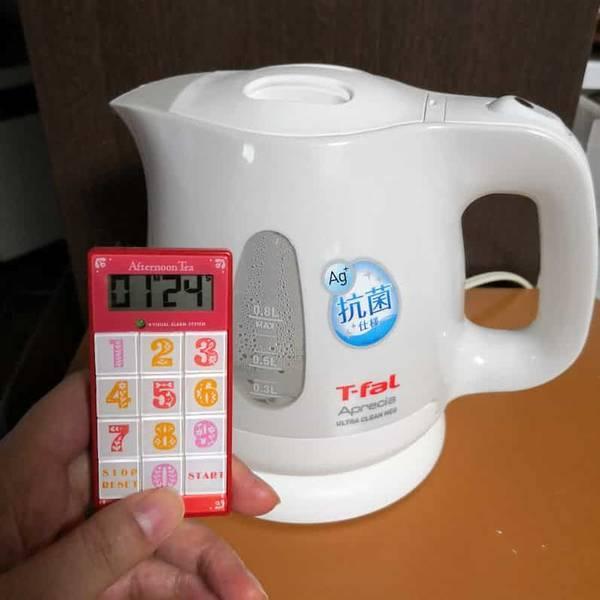 ティファールお湯が沸く時間