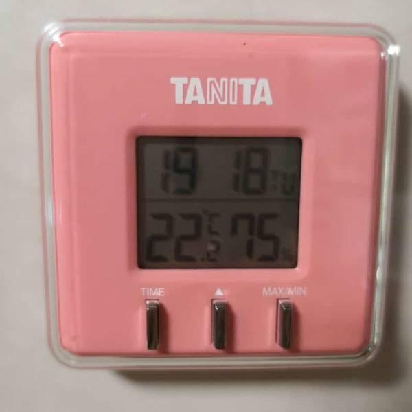 室温22度
