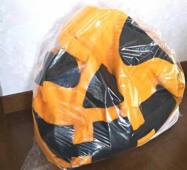 ゴミ袋の中のジャックオーランタン