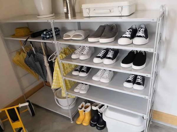 靴と傘の収納