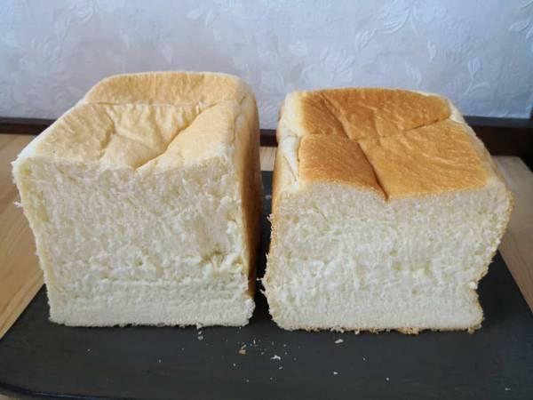 食パン2種類の比較
