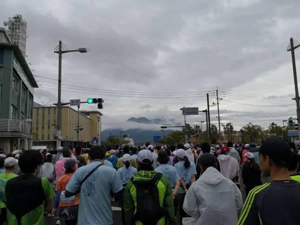 鹿児島マラソンの天気は雨予報