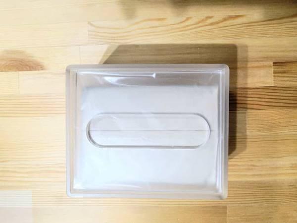 無印良品ティッシュボックスケース