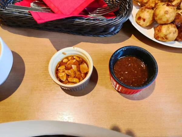 レッドペッパーハンバーグのソース