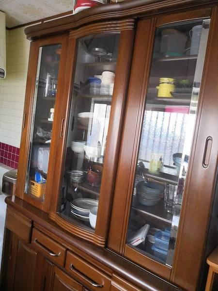 食器棚ビフォー