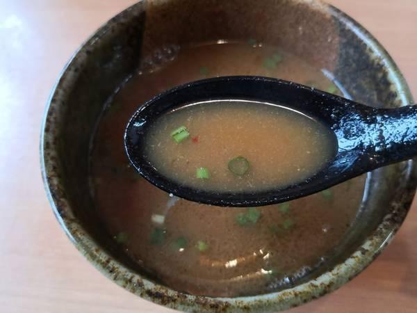 麺匠志輝魚介つけ麺割りスープ