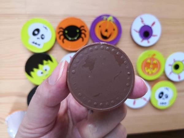 ハロウィンコインネットチョコレート