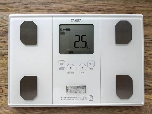 タニタ体組成計