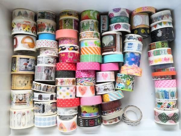 mtイベントマスキングテープがいっぱい
