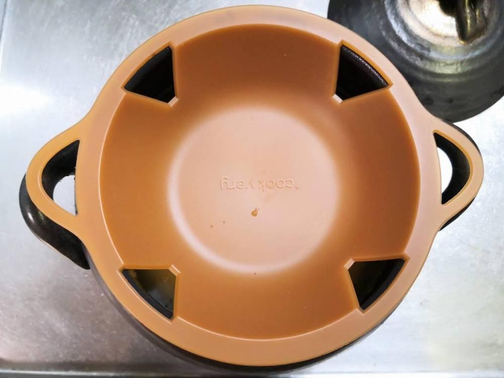 糖質をカットできる土鍋の内蓋
