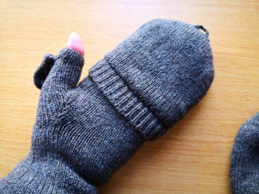 無印手袋半指