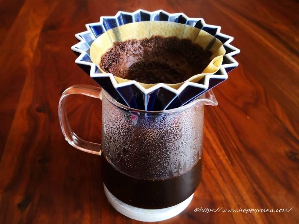 オリガミドリッパーでコーヒー