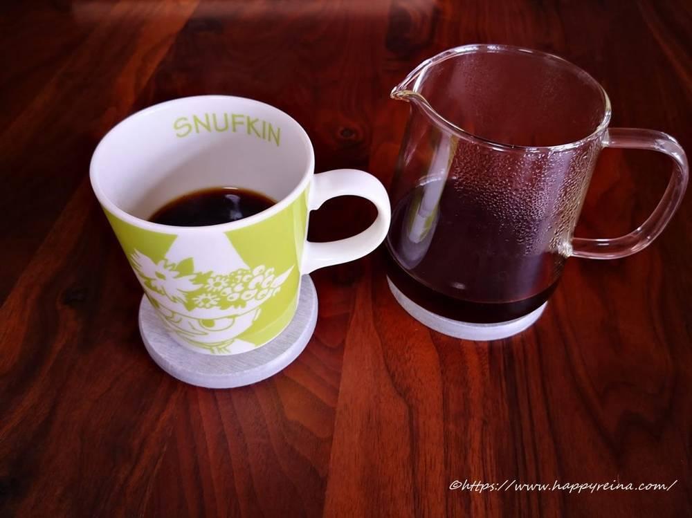 オリガミドリッパーでコーヒーを入れる