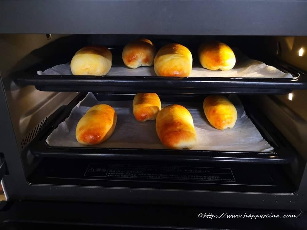 オーブンで180度15分焼く