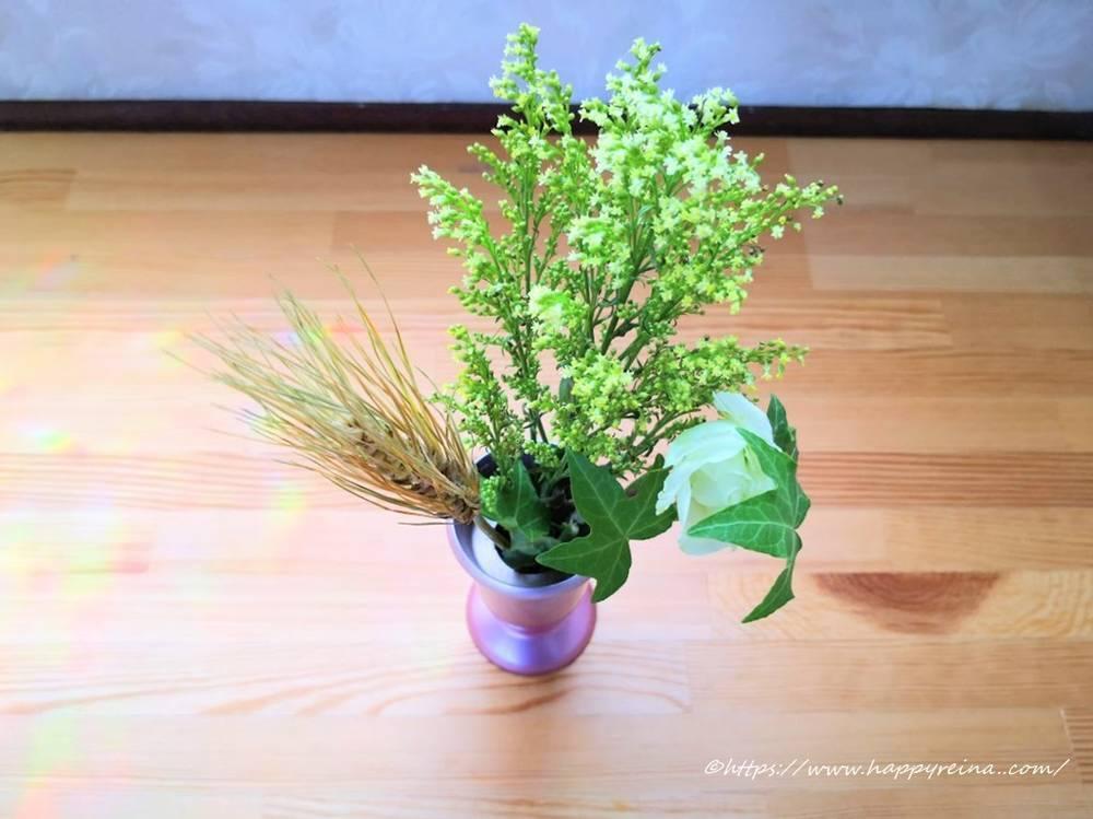 ブルーミーライフの最初のお花