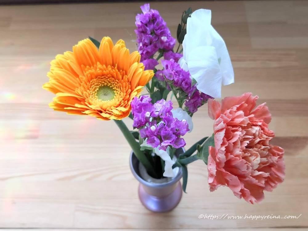 ブルーミーライフ届いたお花